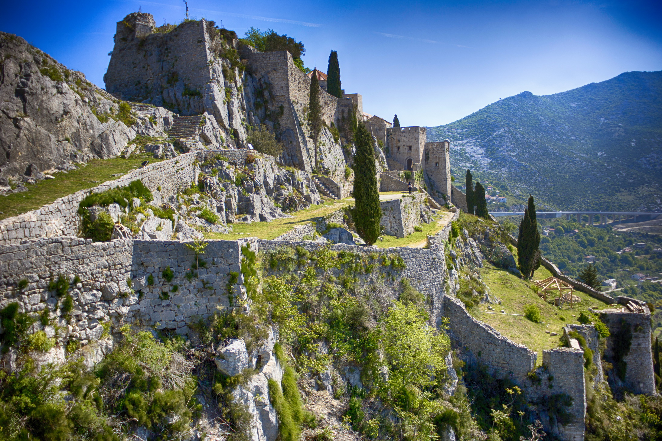 Image result for Klis Fortress and Diocletian's Palace